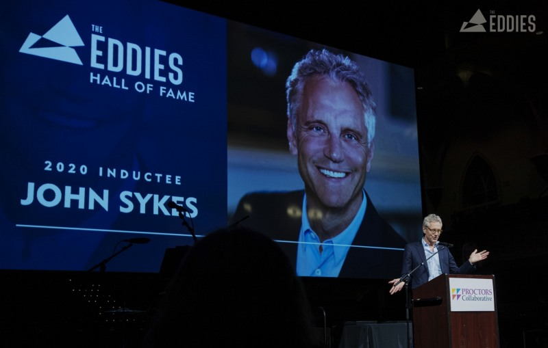 The Eddies Hall of Fame Induction Ceremony and dinner at Universal Preservation Hall in Saratoga Monday, March 9, 2020. Photo credit: Kate Penn - Proctors Collaborative